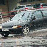 Honda Civic EG - ралли-спринт Санкт-Петербург Крестовский остров 26.04.2015