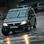 Renault Logan- ралли-спринт Санкт-Петербург Крестовский остров 26.04.2015