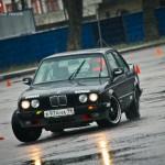 BMW E30 3-series купе - ралли-спринт Санкт-Петербург Крестовский остров 26.04.2015