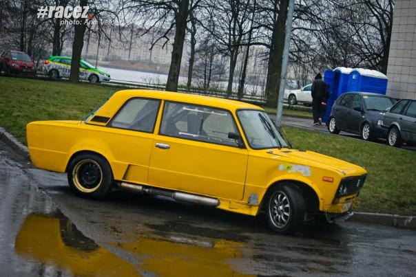 ВАЗ 2106 купе - ралли-спринт Санкт-Петербург Крестовский остров 26.04.2015