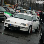 Honda CRX - ралли-спринт Санкт-Петербург Крестовский остров 26.04.2015 Estonian