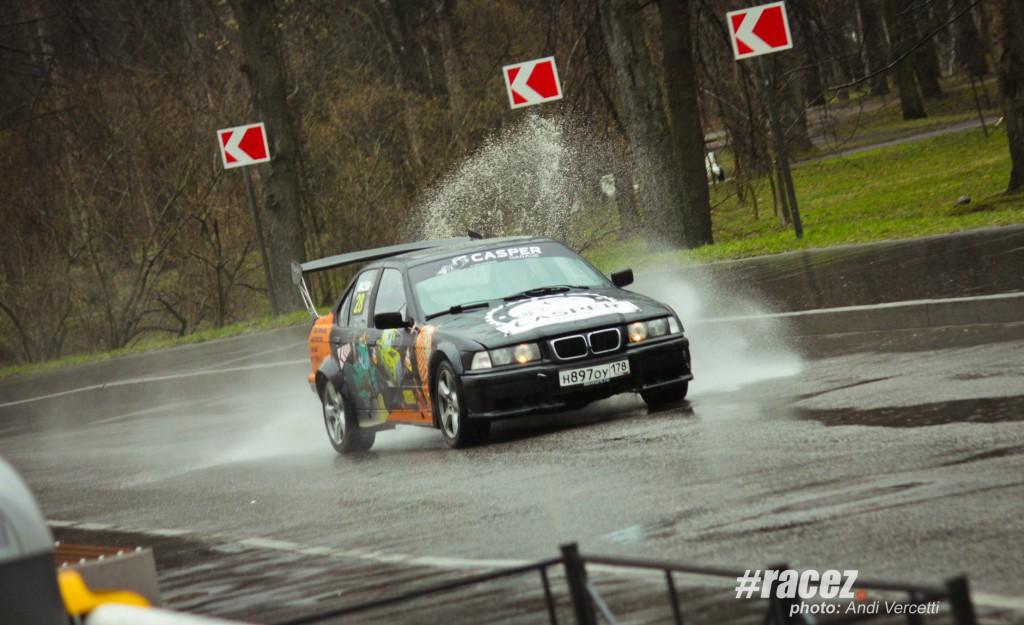 BMW 3-series e36 - ралли-спринт Санкт-Петербург Крестовский остров